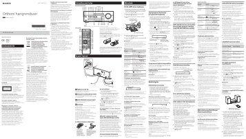 Sony CMT-SBT100B - CMT-SBT100B Istruzioni per l'uso Ungherese