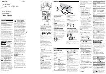 Sony CMT-MX550I - CMT-MX550I Istruzioni per l'uso Polacco