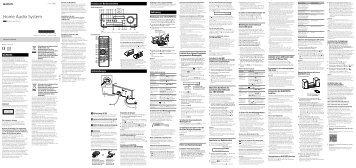 Sony CMT-SBT100 - CMT-SBT100 Istruzioni per l'uso Tedesco