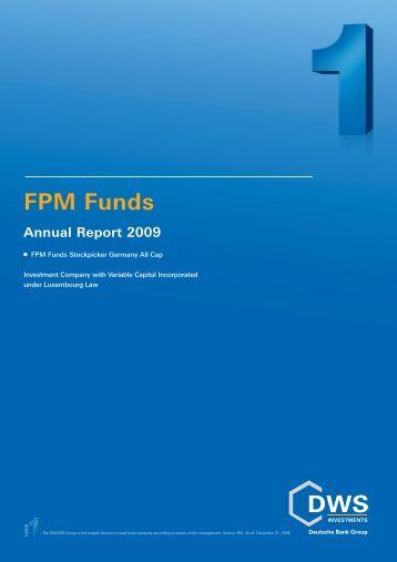 Annual Report - FPM-AG