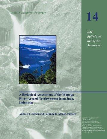 Bulletin of Biological Assessment - Conservation International