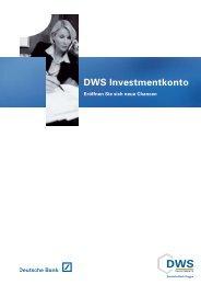 DWS Investmentkonto - FPM-AG