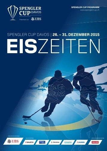 Spengler Cup Programm EISZEITEN