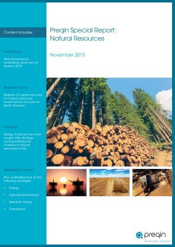 Preqin Special Report Natural Resources
