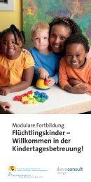 Flüchtlingskinder - Willkommen in der Kindertagesbetreuung!