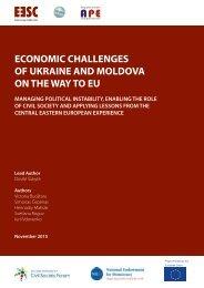 ECONOMIC CHALLENGES OF UKRAINE AND MOLDOVA ON THE WAY TO EU