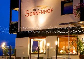 Broschuere Sonnenhof deutsch