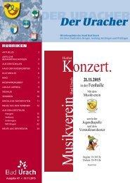 Der Uracher KW 47-2015