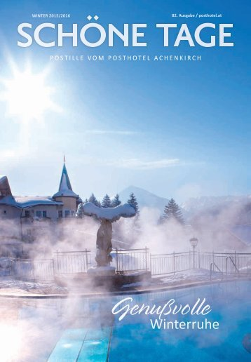 Posthotel - Winterpostille 2015/16