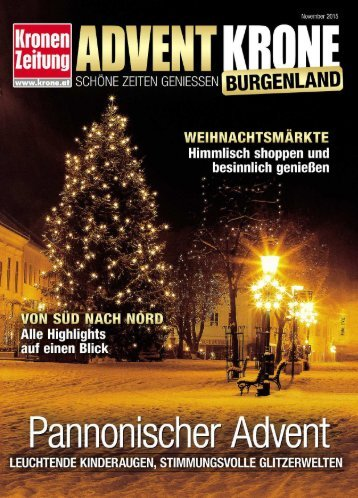advent krone burgenland journal burgenland 151119