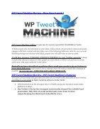 WP Tweet Machine Review - WP Tweet Machine +100 bonus items - Page 3