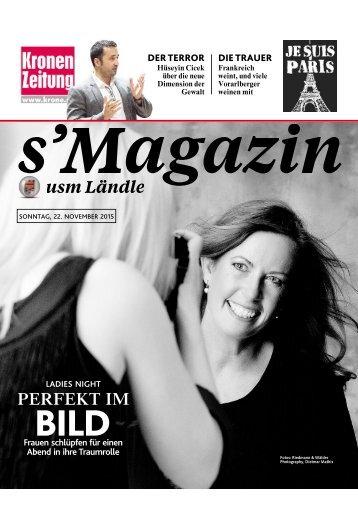 s'Magazin usm Ländle, 22. November 2015