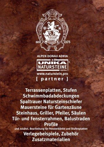 Aussengestaltung Naturstein 2016