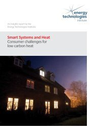 Smart Systems and Heat Consumer challenges for low carbon heat