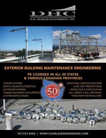 ExtErior Building MaintEnancE EnginEEring