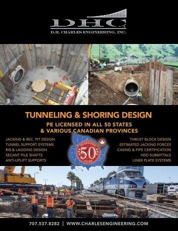 Tunneling & Shoring DeSign