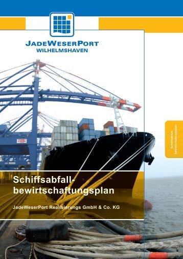 Schiffsabfallbewirtschaftungsplan - JadeWeserPort