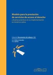 Modelo para la prestación de servicios de acceso al derecho