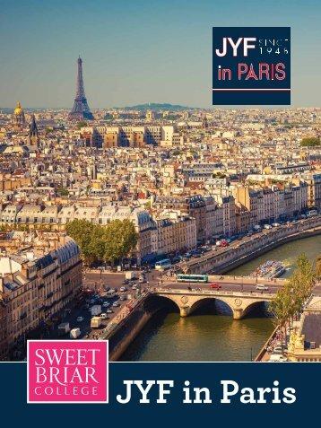 Sweet Briar College JYF in Paris 2018