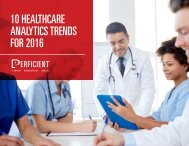 10 HEALTHCARE ANALYTICS TRENDS FOR 2016