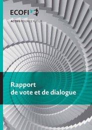 de vote et de dialogue
