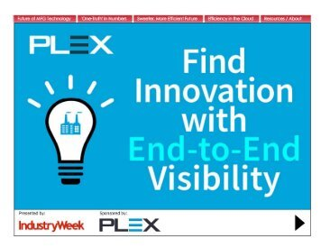 Find Innovation with End-to-End Visibility