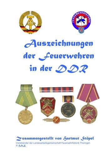 2014_Stöpel - Thüringen_Auszeichnungen Fw der DDR
