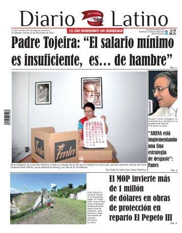 Edición 20 de Noviembre 2015