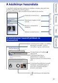 Sony NEX-5RL - NEX-5RL Istruzioni per l'uso Ungherese - Page 2