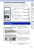 Sony NEX-6Y - NEX-6Y Istruzioni per l'uso Svedese - Page 2