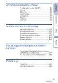 Sony NEX-6Y - NEX-6Y Istruzioni per l'uso Svedese - Page 5