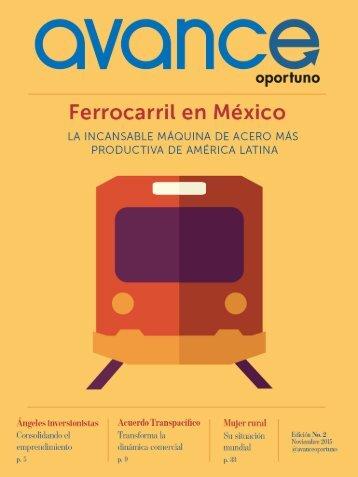 Revista Avance Oportuno- Edición noviembre