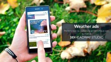 Weather ads