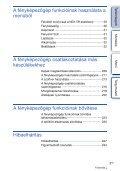 Sony NEX-6Y - NEX-6Y Istruzioni per l'uso Ungherese - Page 5