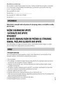 Sony ILCE-5000 - ILCE-5000  Croato - Page 3