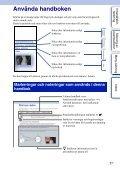 Sony NEX-5A - NEX-5A Guida all'uso Svedese - Page 2