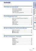 Sony NEX-C3K - NEX-C3K Istruzioni per l'uso Norvegese - Page 3