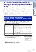 Sony NEX-5TY - NEX-5TY Guida all'uso Ungherese - Page 5