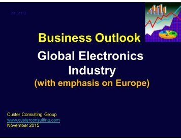 Business Outlook Global Electronics Industry
