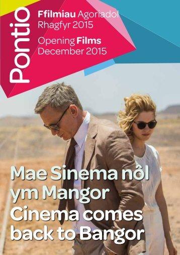 ym Mangor Cinema comes back to Bangor