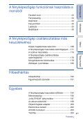 Sony NEX-5NK - NEX-5NK Istruzioni per l'uso Ungherese - Page 4