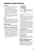Sony DSLR-A500L - DSLR-A500L Istruzioni per l'uso Croato - Page 7