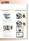 Sony DSLR-A390Y - DSLR-A390Y Istruzioni per l'uso Croato - Page 3
