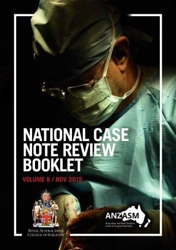 NATIONAL CASE NOTE REVIEW BOOKLET