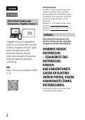 Sony ILCE-7M2 - ILCE-7M2 Istruzioni per l'uso Lituano - Page 2