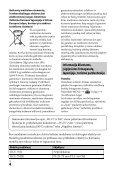 Sony ILCE-7M2 - ILCE-7M2 Istruzioni per l'uso Lituano - Page 4