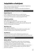 Sony ILCE-7M2 - ILCE-7M2 Istruzioni per l'uso Lituano - Page 5