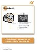 Sony DSLR-A390 - DSLR-A390 Istruzioni per l'uso Croato - Page 5