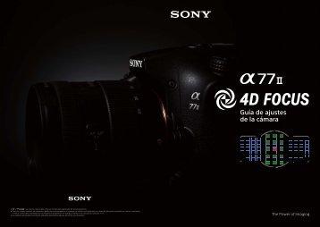 Sony ILCA-77M2M - ILCA-77M2M User's Guide Spagnolo