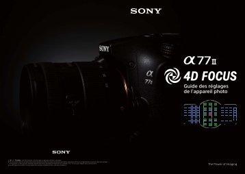 Sony ILCA-77M2M - ILCA-77M2M User's Guide Francese